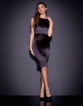 Agent Provocateur €795 - Mona Silk Midi Dress http://bit.ly/1MrEj6u
