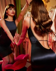 Agent Provocateur €795 - Mona Silk Midi Dress