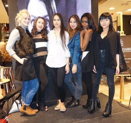 (L-R) Lisa, Nadia, Mei Ling, myself, Filomena and Dee
