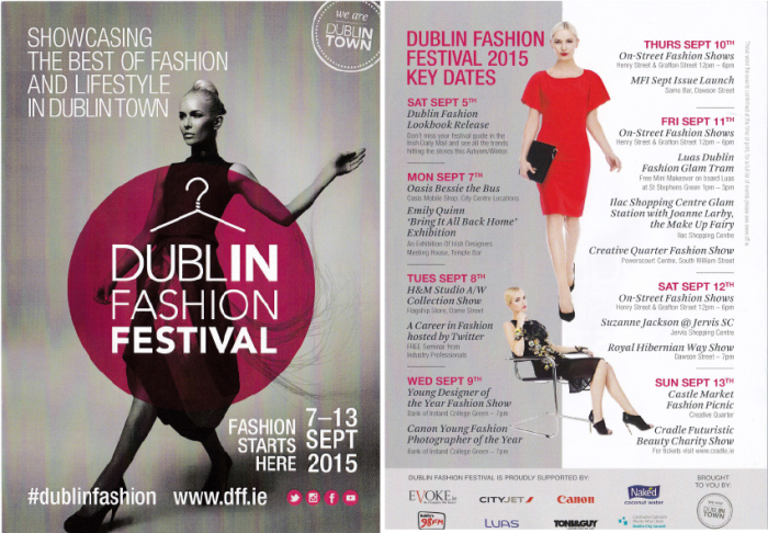 Click to read the Dublin Fashion Festival schedule