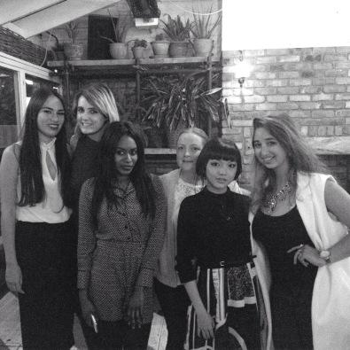 (L-R) Mei Ling, Lorna, Filomena, Gail, Dee and myself