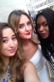 Myself, Lorna and Filomena