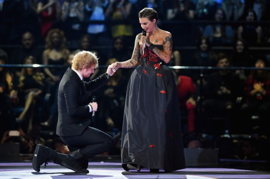 Ed Sheeran & Ruby Rose