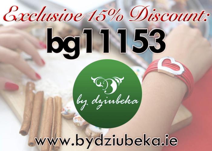 By Dziubeka 15% discount promo code
