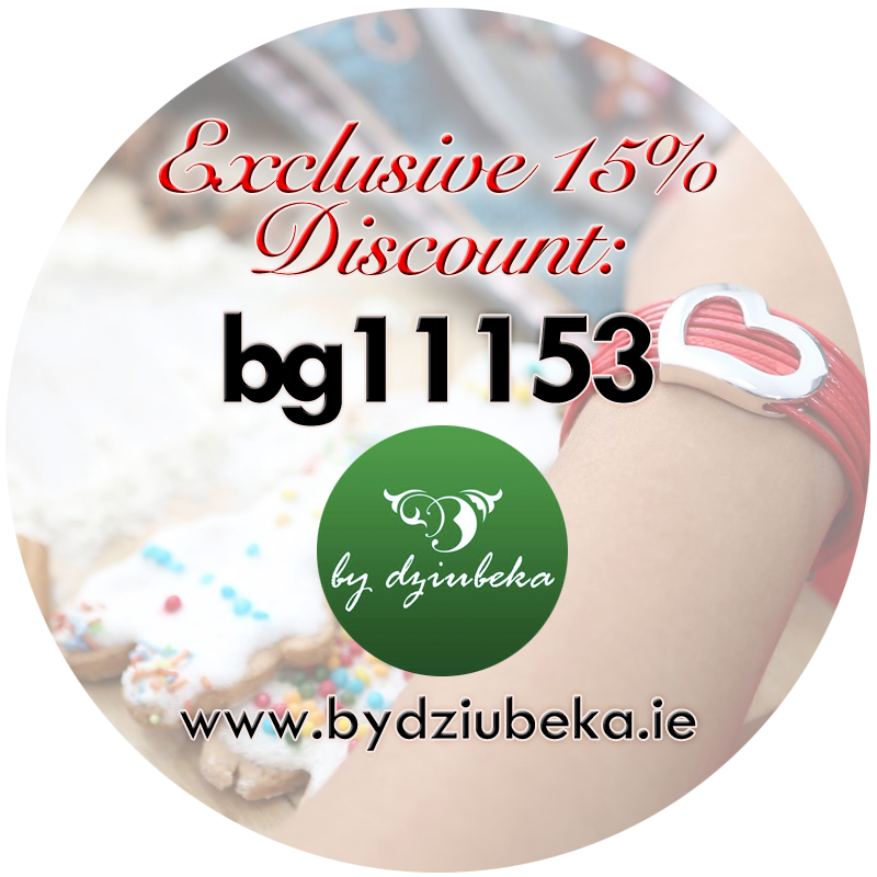"""Enter """"bg11153"""" at checkout for 15% discount at By Dziubeka!"""