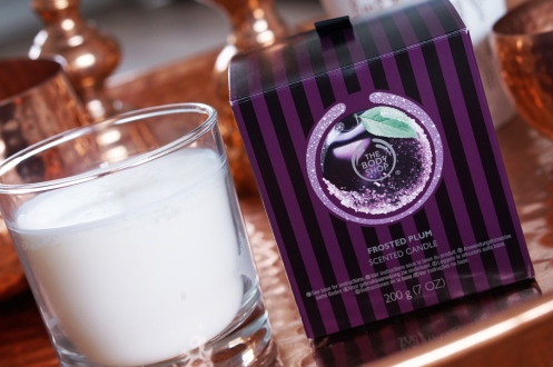 The Body Shop €17 - Frosted Plum Candle http://bit.ly/1SYWPCx