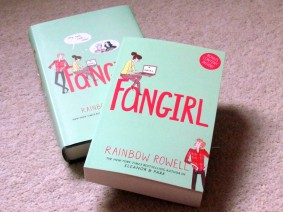 Dubray Books €9.99 - Fangirl by Rainbow Rowell http://bit.ly/1NwLjKU