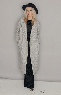 Folkster €120 - Grey Cocoon Coat http://bit.ly/1NRlp8j
