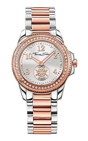 Thomas Sabo €11 - Glam Chic Rose Gold and Silver Watch http://bit.ly/1OKlbkm