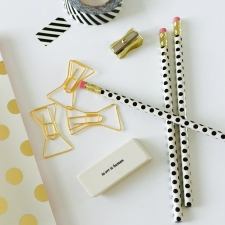 Amara €24 - Kate Spade Pencil Set http://bit.ly/1P4D2R8