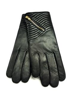 Kilkenny Shop €39.95 - Ashwood Ladies Zip Gloves Black Large http://bit.ly/1QqGUiJ