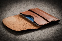 Designist €30 - CarveOn Leather Card Wallet http://bit.ly/1O3ObEE