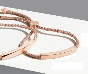 Brown Thomas €170 - Monica Vinader Linear Friendship Bracelet http://bit.ly/1P6DQVH