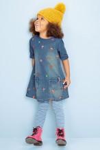 Next €21 - Embroidered Denim Dress http://bit.ly/1I8mzfv