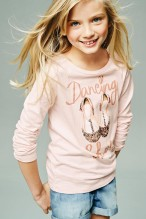 Next €17 - Pink Sparkly Ballet Shoes T-Shirt http://bit.ly/1TPndPy
