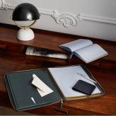 Smythson €495 - A4 Zipped Writing Folder http://bit.ly/1jY3IYL