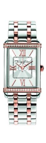 Thomas Sabo €279 - Silver & Rose Gold Watch http://bit.ly/1OPyG03