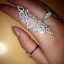 Thomas Sabo €298 - Sterling Silver Glam & Soul Knuckle Ring http://en.pickture.com/pick/2400979