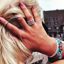 Thomas Sabo €339 - Glam & Soul Filigree Infinity Pavé Ring http://bit.ly/1m3swQl