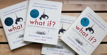 Dubray Books, €10.99 - Randall Munroe What If? paperback http://bit.ly/1miVFHN
