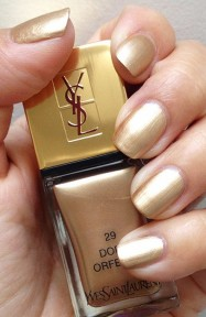 YSL €24 - La Laque Couture 29 Dore Orfevre http://bit.ly/1YgyGhJ