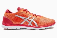 Asics Red & Orange Run Fit Nova Training