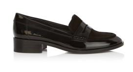Karen Millen €199 - Patent Penny Loafers http://bit.ly/1P3ca5u