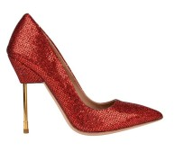 Kurt Geiger €175 - Britton Glitter Court Shoes http://bit.ly/1lrlcNS