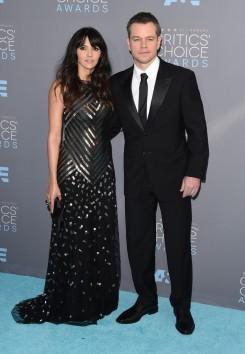 Luciana & Matt Damon