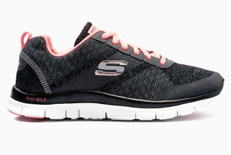 Skechers Charcoal Flex Appeal