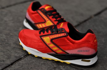 Brooks Regent High Risk Red Vibrant Yellow, €91/£70 http://bit.ly/20LUFec