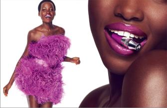 Lupita Nyong'o Lancome Juicy Shaker
