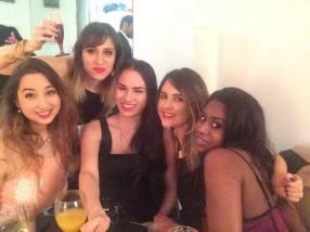 (L-R) Myself, Kassi, Mei Ling, Lorna and Filomena