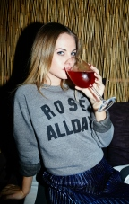 Kid Dangerous Rosé All Day Sweatshirt €37.50 http://bit.ly/1TGKBkA
