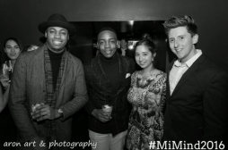 (L-R) Bobby, Lawson, myself and Tomás. (Photo by Aron Art & Photography)