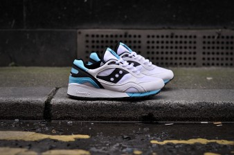 Saucony Shadow 6000 White/Blue/Black, €115.69/£89 http://bit.ly/1Pbly60