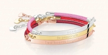 Thomas Sabo from €99 - Love Bridge Cord Bracelet http://bit.ly/1Ssu04S