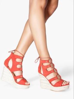 Boohoo €38 - Anna Espadrille Ghillie Wedges http://www.boohoo.com/new-in-shoes/anna-espadrille-ghillie-wedge/invt/dzz87869