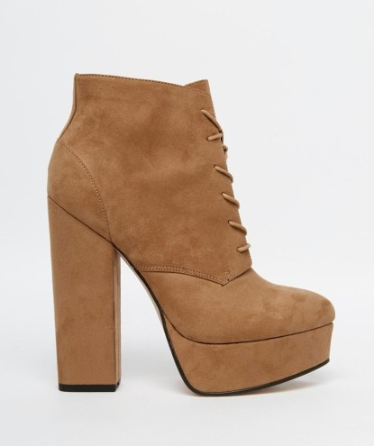 ASOS €35 - Epic Lace Up Platform Boots http://bit.ly/1UGb167