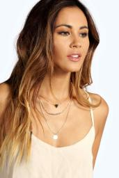 Boohoo €7 - Alexis Bead And Coin Layered Necklace http://www.boohoo.com/necklaces/alexis-bead-and-coin-layered-necklace/invt/azz05731