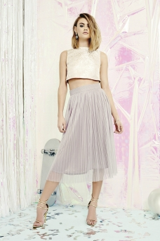 boohoo.com Boutique May Jacquard Top Midi Skirt Co-Ord Set €41 4
