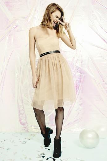 boohoo.com Boutique Rhia Glitter Bandeau Prom Dress €41 3