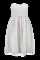 Boohoo €41 - Boutique Rhia Glitter Bandeau Prom Dress http://www.boohoo.com/new-in/boutique-rhia-glitter-bandeau-prom-dress/invt/dzz87130