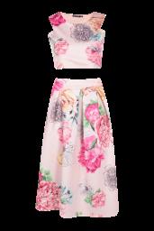 Boohoo €27 - Visa Floral Box Pleat Midi Skirt Co-Ord Set http://www.boohoo.com/co-ords/visa-floral-box-pleat-midi-skirt-co-ord-set/invt/dzz84101