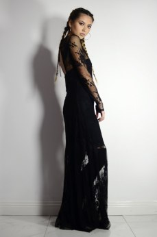 Glamorous Lace Maxi Dress