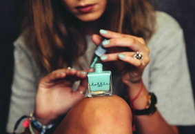 Lottie London Nail Lacquer in Retweet Mint €8 http://bit.ly/1LErdTS