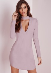 Missguided €25.20 - Crepe curve hem cut out bodycon dress http://bit.ly/1MElTLg