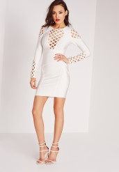 Missguided €84 - Premium bandage cut out detail bodycon dress http://bit.ly/1LJDab8