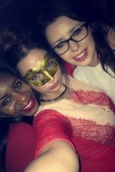 Filomena, myself and Chloë