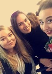 Lauren, Mei Ling and I